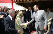 Tétouan : Le Roi lance des projets de l'INDH
