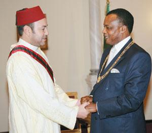 Le Roi en Afrique : Le sens d'une visite