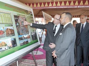 SM le Roi donne le coup d'envoi de quatre projets d'habitat social à Marrakech