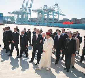 Tanger-Med : Le premier terminal à conteneurs est lancé