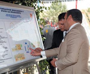 Activités royales : Requalification urbaine de Targuist