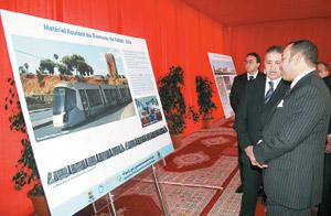 Activités royales : Le tramway entre Rabat et Salé coûtera 3,2 milliards DH