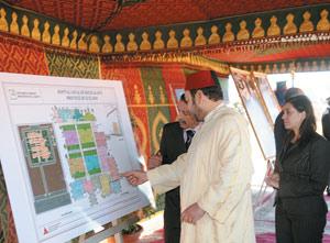 Activités Royales : Des projets de développement économique à Bouizakarne
