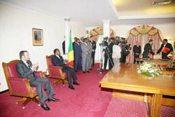 Le Roi au Congo : la coopération d'abord