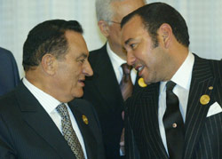 Moubarak en visite demain au Maroc