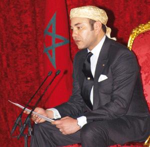 Discours historique d'Ajdir mercredi 17 octobre 2001 : Une place plus rayonnante pour l'amazighité au Maroc