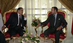 Tapis rouge pour Moubarak