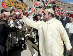 SM Mohammed VI engage la commune rurale de Anefgou dans une mise à niveau exemplaire