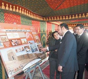 Activités royales : Des projets de développement dans la province d'Assa-Zag