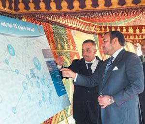 Activités royales : Lancement de projets de mise à niveau à Sidi Ifni