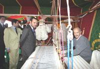Meknès : le Souverain soutient l'artisanat