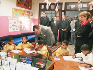 SM le Roi visite Dar Al Atfal Akkari