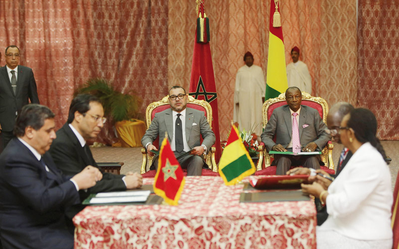 Visite royale en Guinée: Mission accomplie
