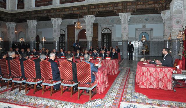 SM le Roi préside un Conseil des ministres