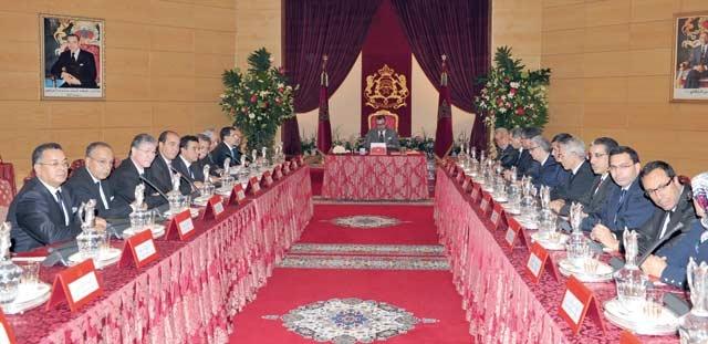 SM le Roi a présidé un Conseil des ministres à Marrakech