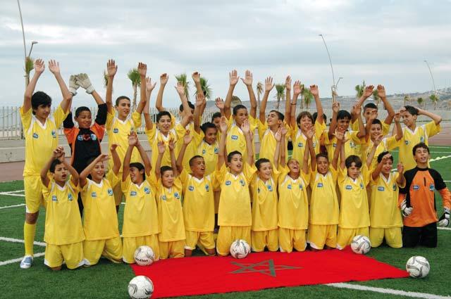 14ème édition de la Danone Nations Cup à Londres : Dernière ligne droite pour  les benjamins slaouis