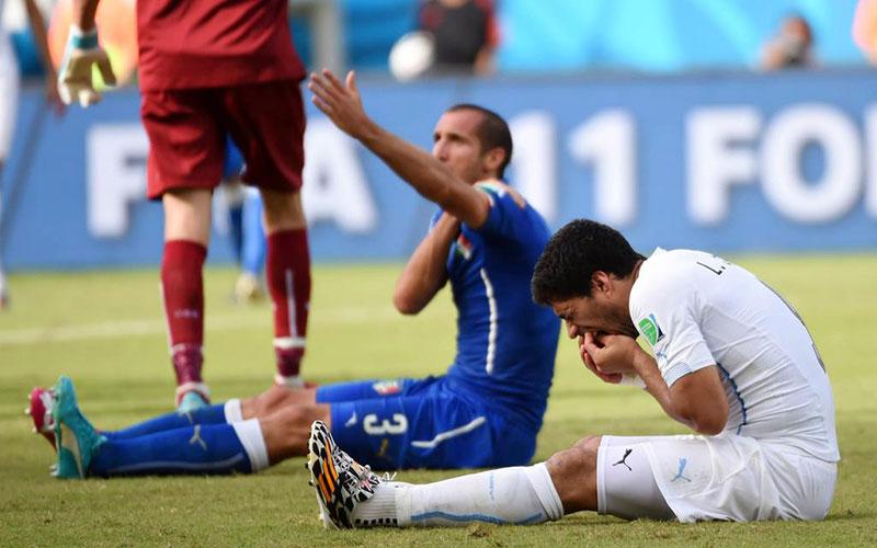 Coupe du monde términée pour Luis Suarez