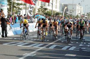 Le Sud-Africain Rabie s'accroche au maillot jaune, Jelloul 3e au général