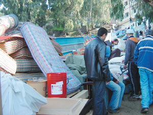Tanger : une quinzaine de maisons s'effondrent
