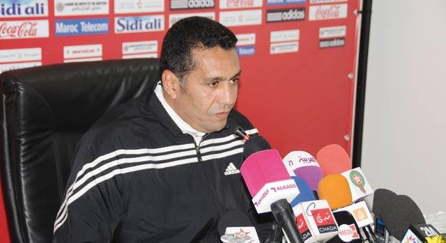 Coupe d Afrique des Nations-2013 : Rachid Taoussi vise les quarts de finale !