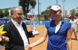 Anastasia Mukhametova remporte le premier titre de sa carrière