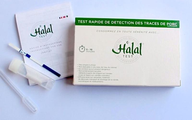 Un test Halal pour détecter la présence de porc ou d'alcool dans nos aliments
