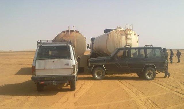 Tindouf : Interception de  camions-citernes acheminant  du fuel vers la Mauritanie