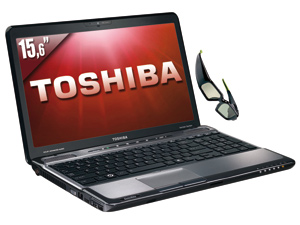 Innovation : Toshiba dévoile le premier PC portable 3D sans lunettes