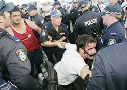 violences raciales en Australie
