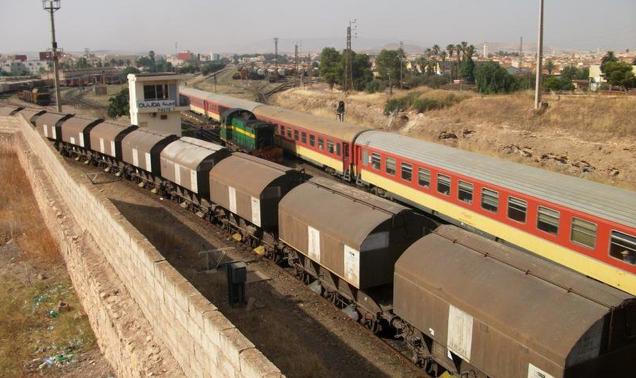 Déraillement d'un wagon de marchandises à l'entrée de la gare de Kénitra