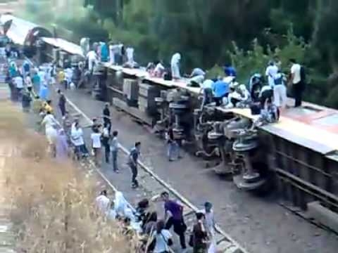 Arrestation de personnes  soupçonnées d être à l origine  du déraillement d un train à Fès