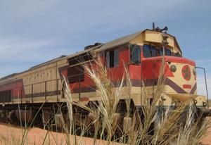Le train du désert marocain