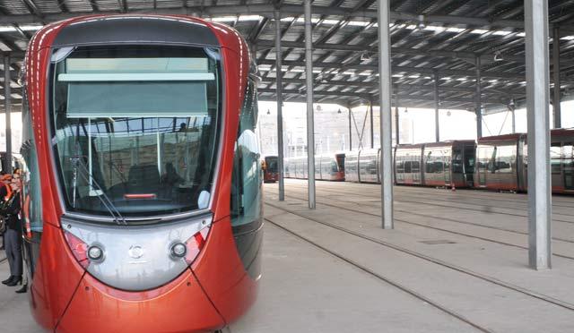 Tramway de Casablanca : Le produit final n arrivera  pas avant juillet 2013