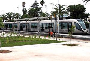 Rabat : Un tramway à la carte