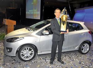 Mazda2 : Elue «Voiture mondiale de l'année» 2008