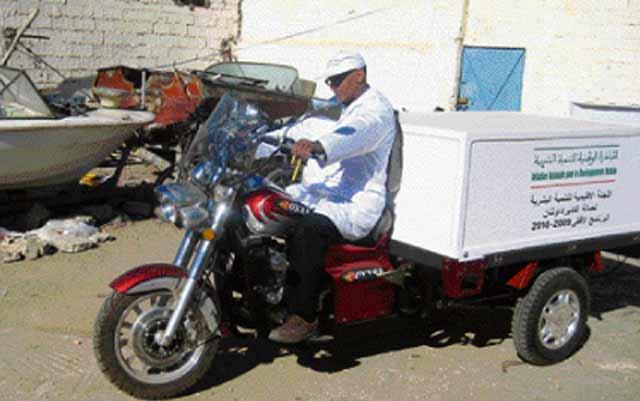 Nouaceur: des triporteurs pour le transport de marchandises distribués dans le cadre de l'INDH