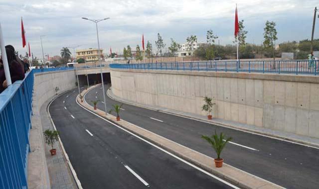 Inauguration d'un tunnel pour fluidifier la circulation à Casablanca