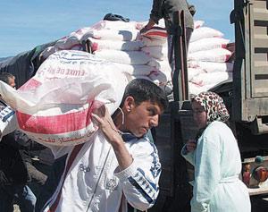 La banque alimentaire se dépense à Angfou