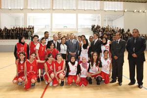 Création de l'Académie Mohammed VI de football