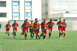Les benjamins de Nador en compétition à Lyon