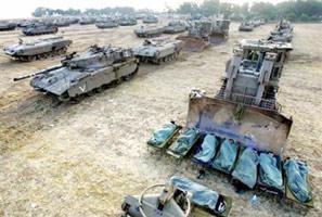 Israël envahit la bande de Gaza