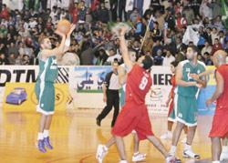 Salé, capitale du basket arabe