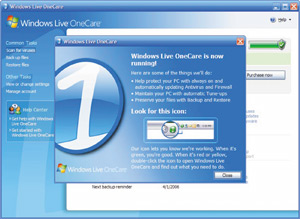 High-tech : OneCare, l'antivirus en ligne de Microsoft