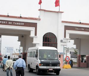 Risque de blocage au port de Tanger