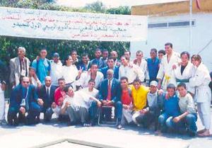 Un tournoi d'aïkido judo à Casablanca