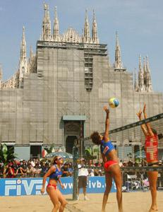 Paris aime le beach volley