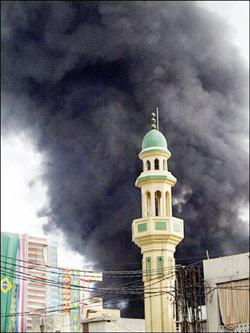 La ville de Tyr pilonnée par Israël