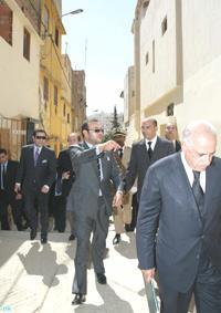 INDH : Sa Majesté le Roi À Meknès