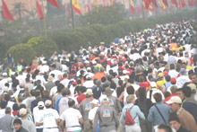 Marathon : courir pour l'espoir