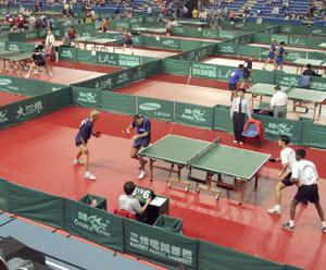 Ping-pong à Casablanca